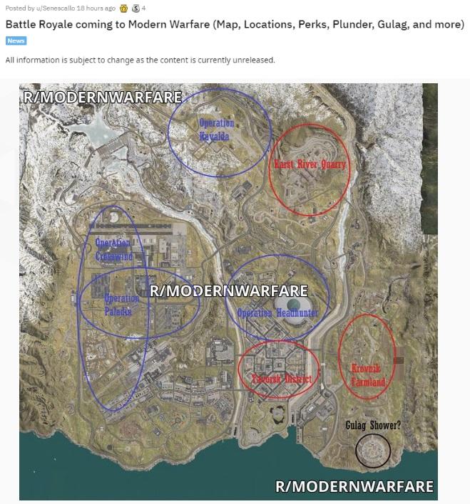 新花样:《COD:现代战争》大逃杀模式细节披露,可单挑重生_玩家
