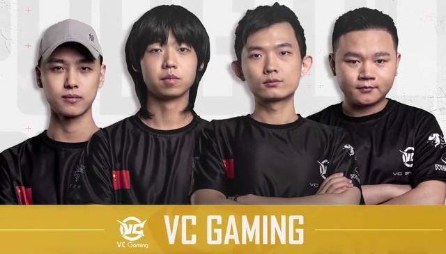 绝地求生PGC:VC战队决赛圈4V4吃鸡,半决赛BC组PCL队伍连吃4鸡