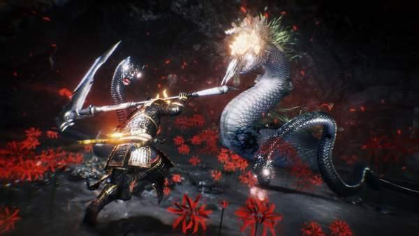 """《仁王2》新妖怪""""夜刀神""""公布蛇神妖怪擅长发射刀刃_攻击"""