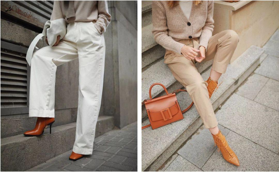 """别再穿""""打底裤""""了,现在流行""""裤子+靴子""""!保暖又显瘦!"""