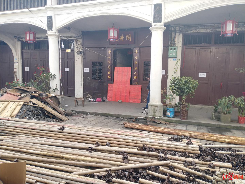 四川达州清河古镇天井阁垮塌,被困7旬老人抢救无效死亡