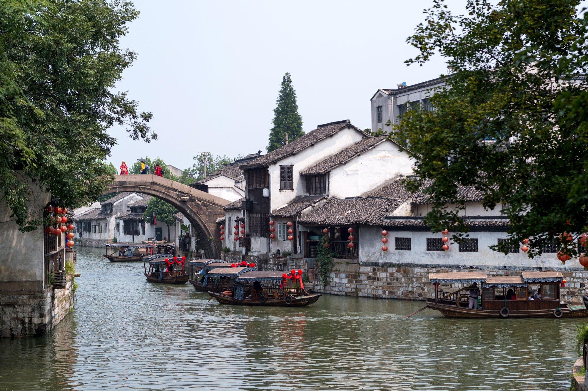 我国唯一中西合璧江南古镇,豪门宅第众多,被誉为中国江南的封面_房屋
