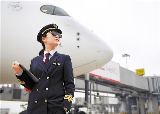 民航招飞报名开始 近视眼也可以当飞行员
