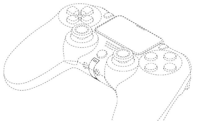 PS5手柄专利图疑似曝光和PS4手柄没有太大变化_索尼
