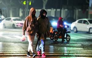 江苏发布寒潮黄色预警19日全省最低气温-2℃
