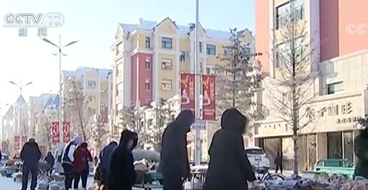 内蒙古强冷空气来袭 部分地区出现极寒天气_呼伦贝尔