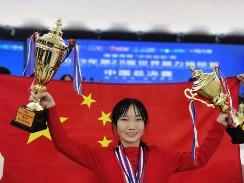 【神童】宁夏16岁女孩在世界脑力锦标赛中国总决赛中摘大奖