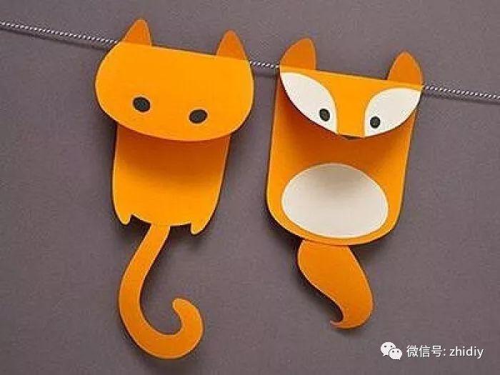 动物牙齿手工制作图片