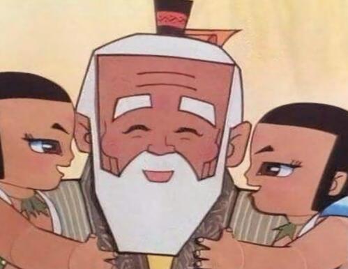 占据90后童年的四大国漫中的爷爷,全认识的基本脱单!_羊村