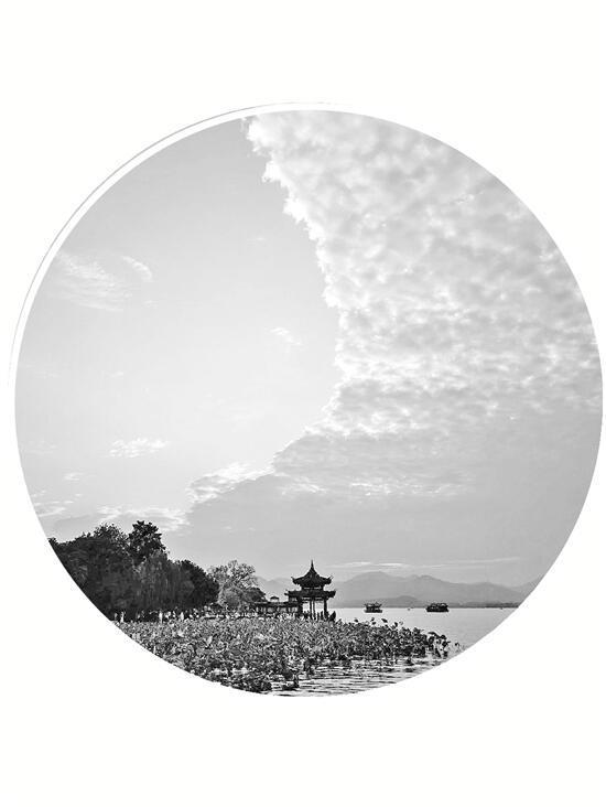 强冷空气抵达浙江杭州寒潮预警响起
