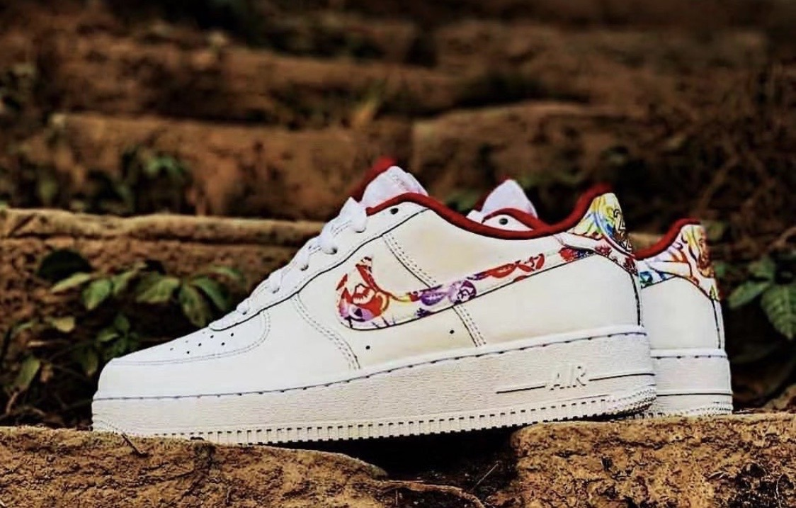 不输PEACEMINUSONE联乘!NikeAirForce1鼠年限定已曝光!?_中国