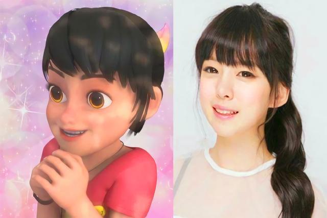 熊出没真人版COS来袭,赵琳长大了,纳雅小妹妹竟比原型还可爱 作者: 来源:萌番动漫