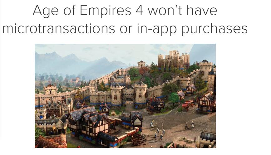 創意總監明確《帝國時代4》無微交易等內購元素_游戲
