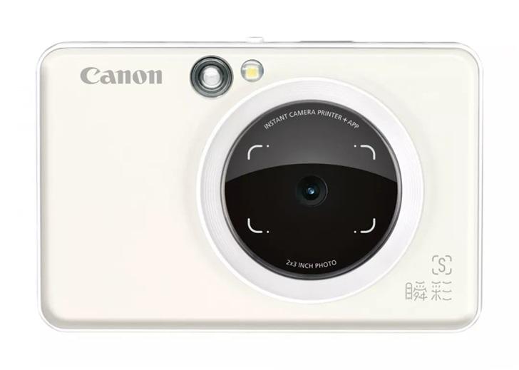 佳能推出手机照片打印机拍照版:800万像素,NFC触碰打印