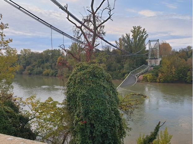 法国一吊桥坍塌 1人不幸遇难4人获救_中欧消息_欧洲中文网