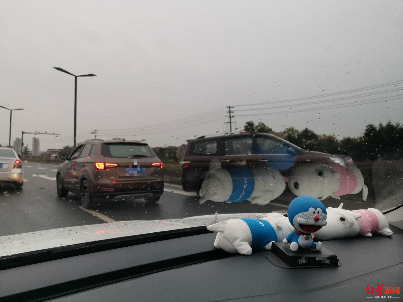 武汉路西段发生交通事故 多名司机称路面打滑