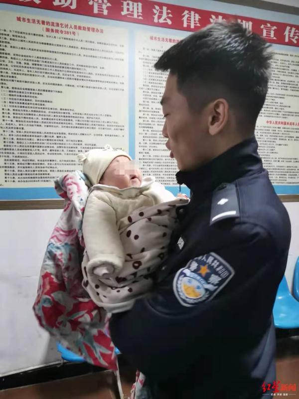 兩月大女嬰被棄草叢,隨身紙條:父母年輕不懂事、無撫養能力_龍江