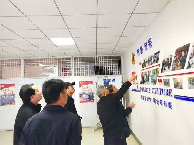 河北省美术研究会书画家走进警营慰问基层公安干警