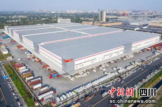 西南最大的仓储物流园竣工并投入使用_四川
