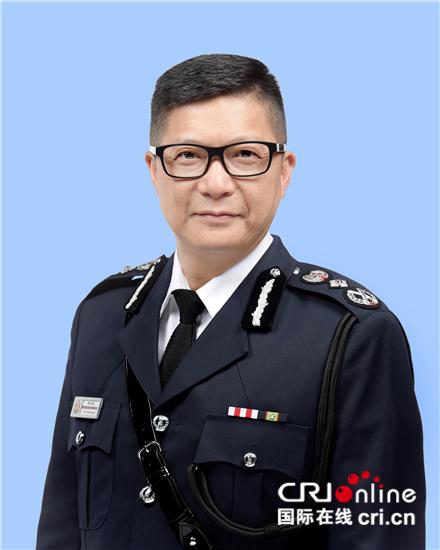 邓炳强出任香港特区政府警务处处长