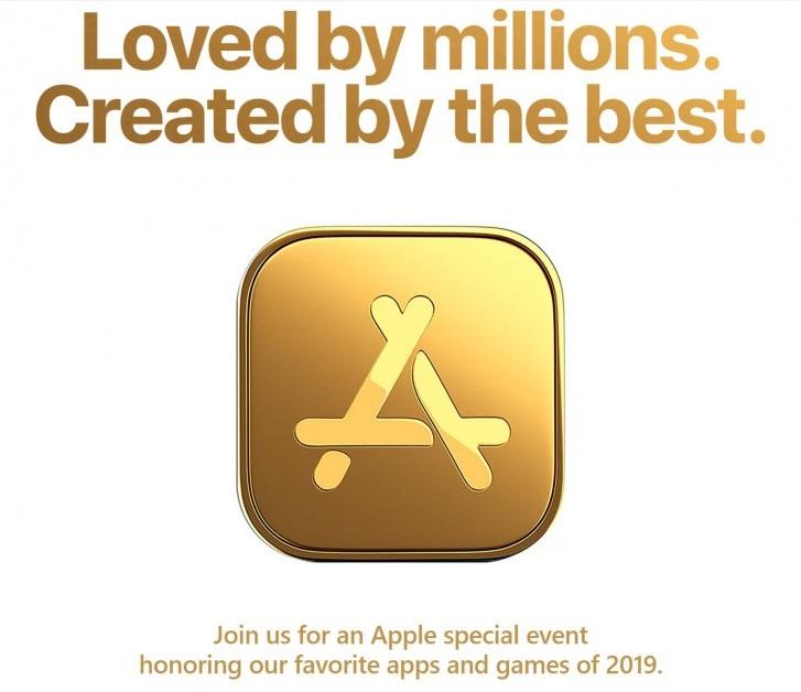 苹果将于12月2日举行发布会,公布2019年度最受欢迎应用及游戏_活动