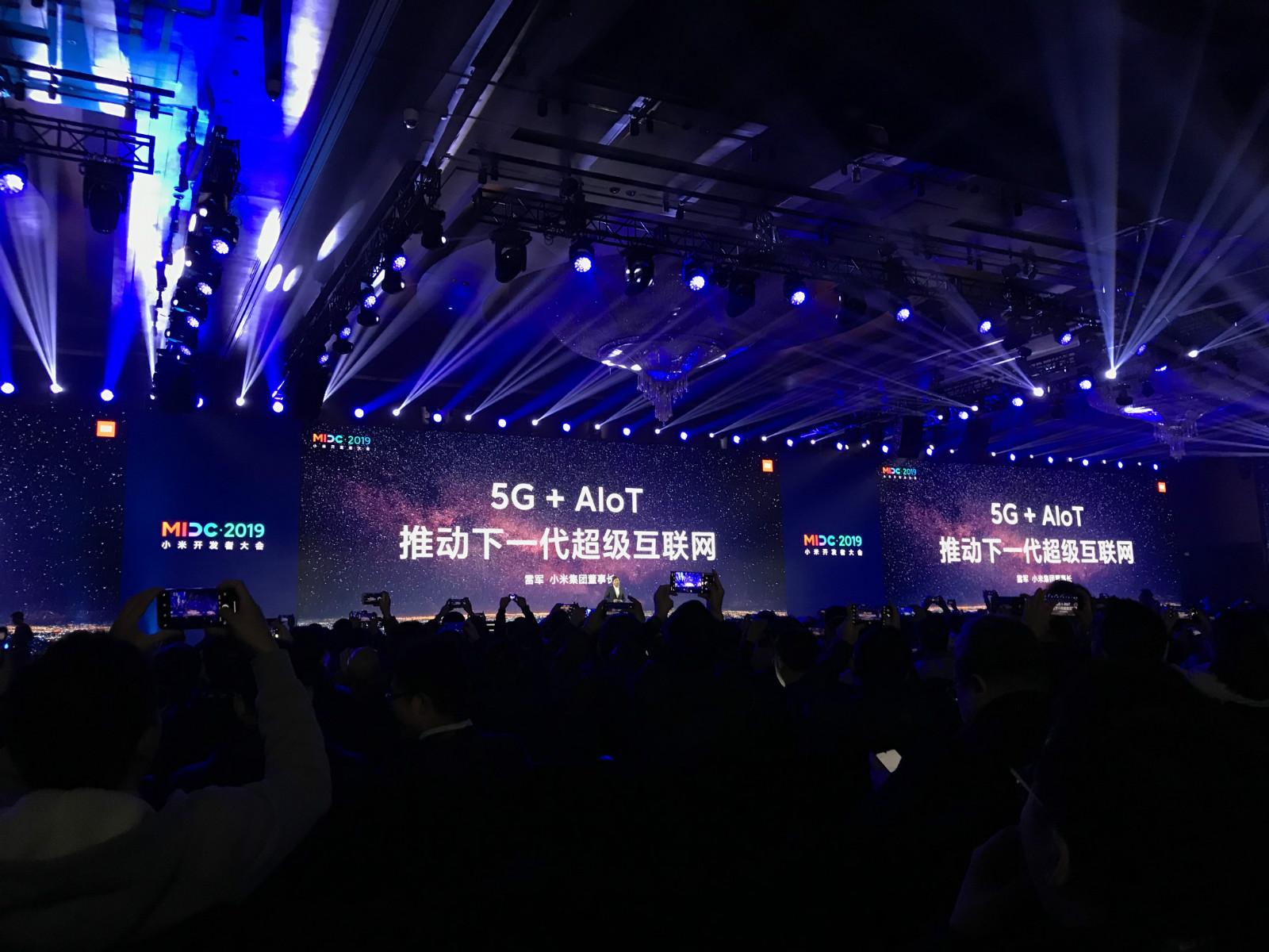 小米雷军:明年是5G手机市场起飞元年,将发布10款5G手机