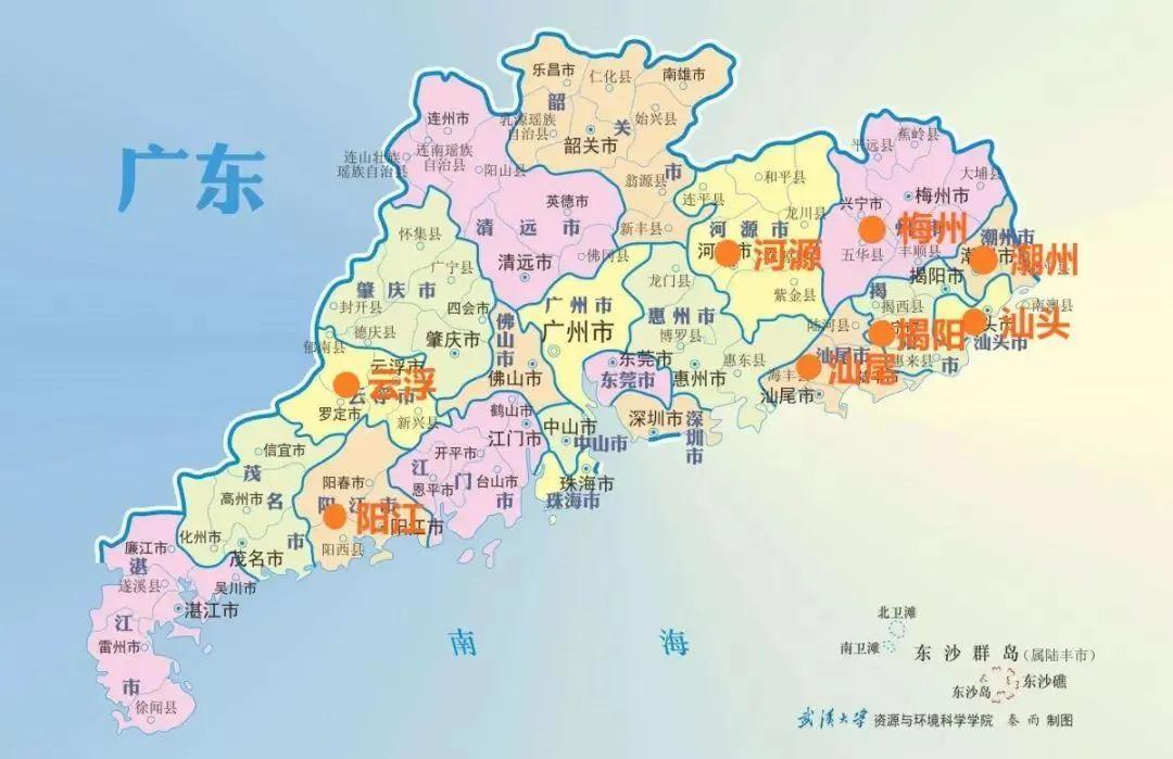 云浮gdp_云浮地图