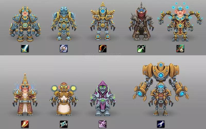 大神设计魔兽世界机械侏儒各职业套装,机械特色风格各异