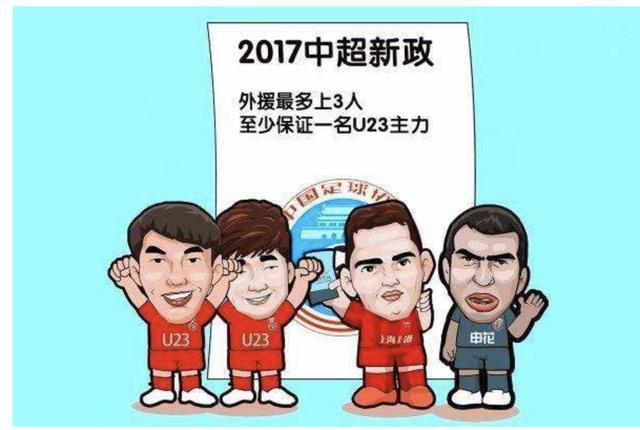 中超马后炮:U23政策可以取消了,培养年轻球员该从U21开始_中国