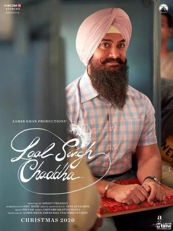 印度版《阿甘正传》海报曝光!或明年圣诞上线,阿米尔汗本色出演_电影