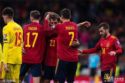 欧预赛:莫雷诺梅开二度西班牙5-0大胜罗马尼亚_中欧新闻_首页 - 欧洲中文网