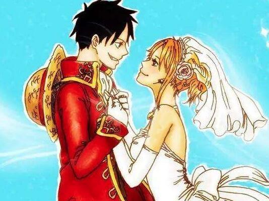 假如海賊王不是熱血番,而是愛情番,你最看好哪一對情侶?_動漫