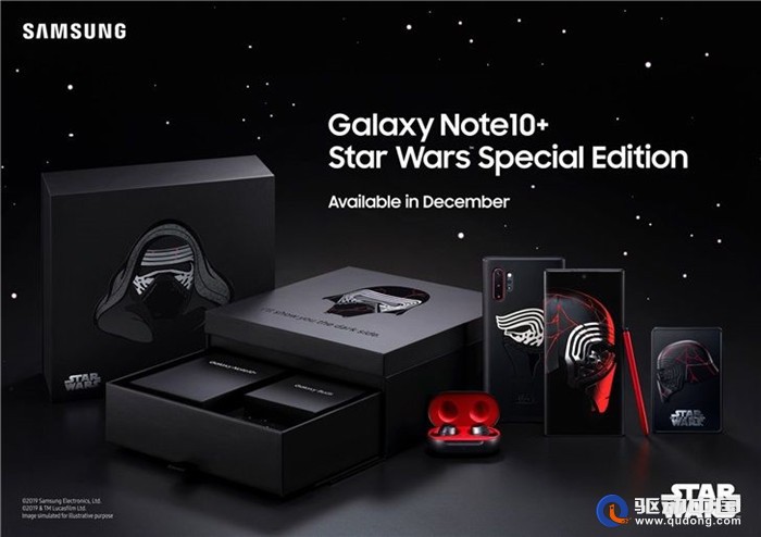 muiu官网三星Galaxy Note10+推星球大战特别版 中国市场被遗漏