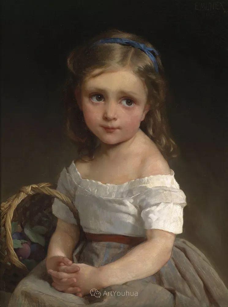 法国画家埃米尔· 穆尼尔作品赏析