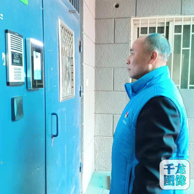 """北京这个社区有点""""酷"""",市民刷脸都能开门_居民"""