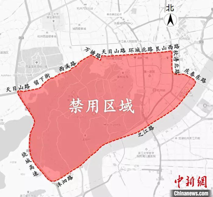 杭州劃定禁用高排放非道路移動機械區域 亮劍移動源污染_排氣