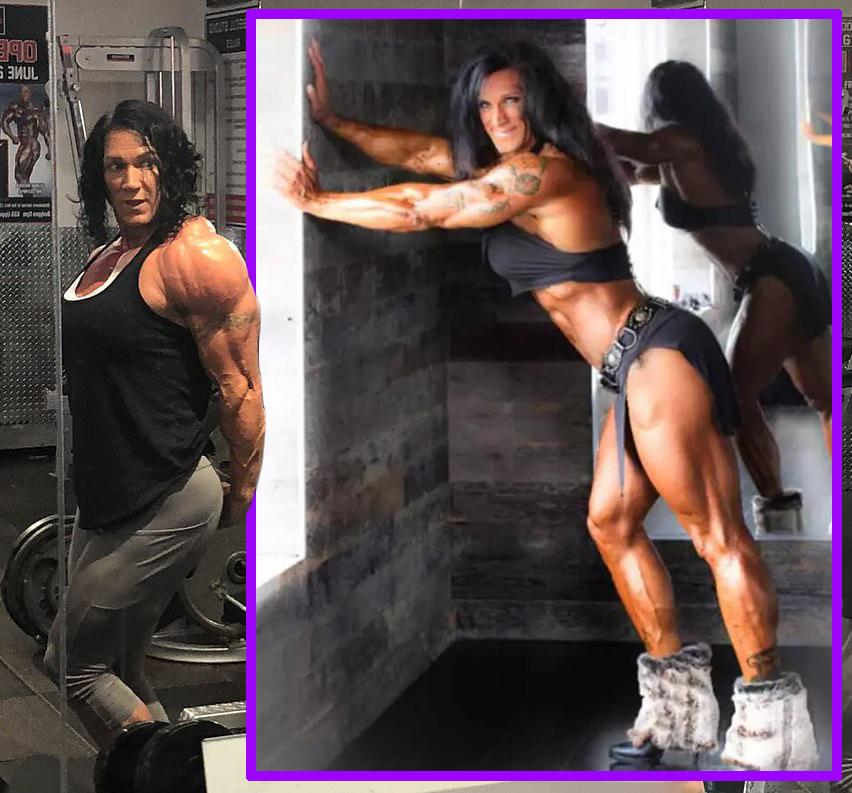 """原创 最彪悍的姥姥?健身30年,加拿大姥姥练就""""金刚身材"""",简直了!"""