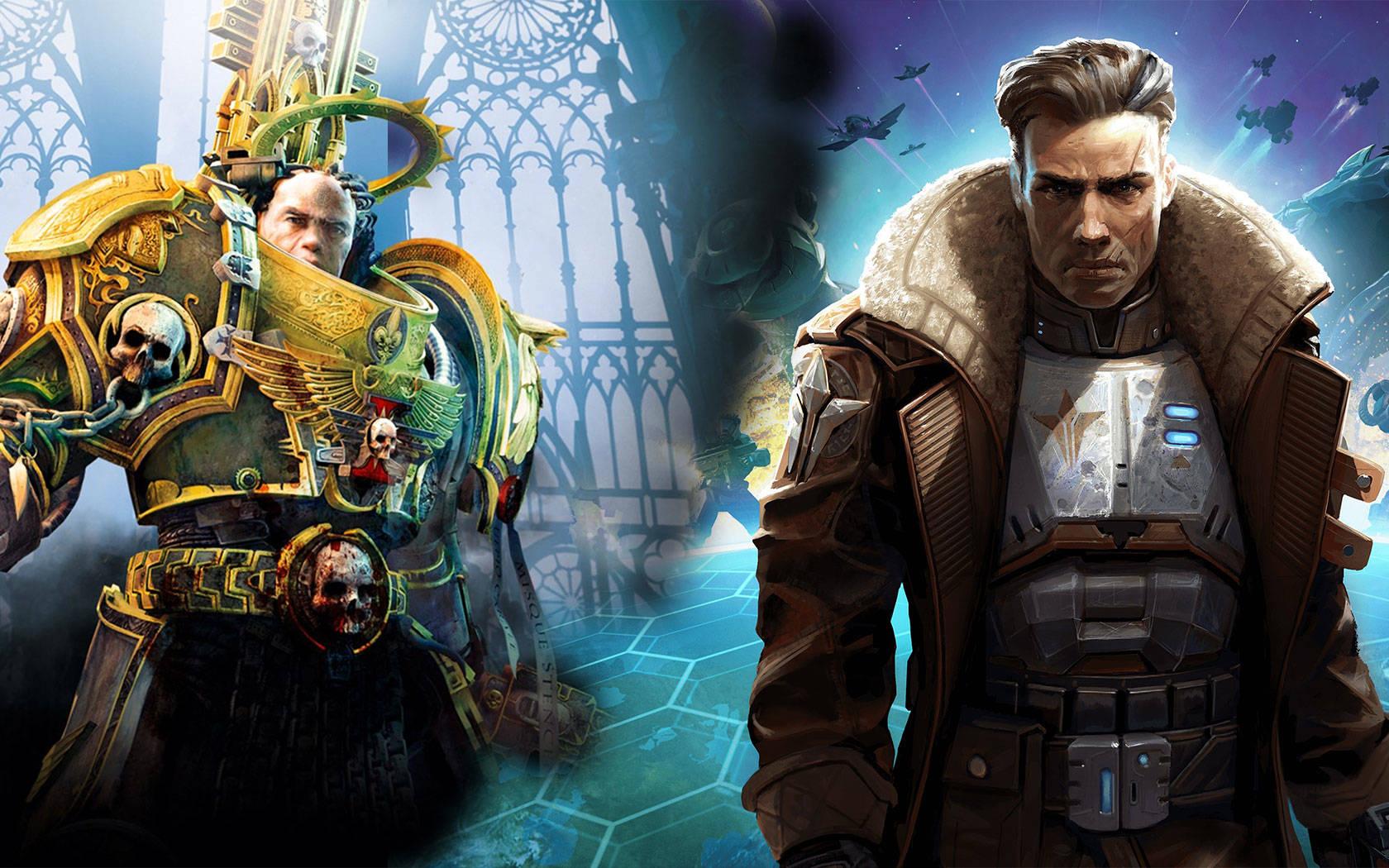 STEAM瘋狂周三,戰錘奇幻與奇跡世界科幻的游戲對碰