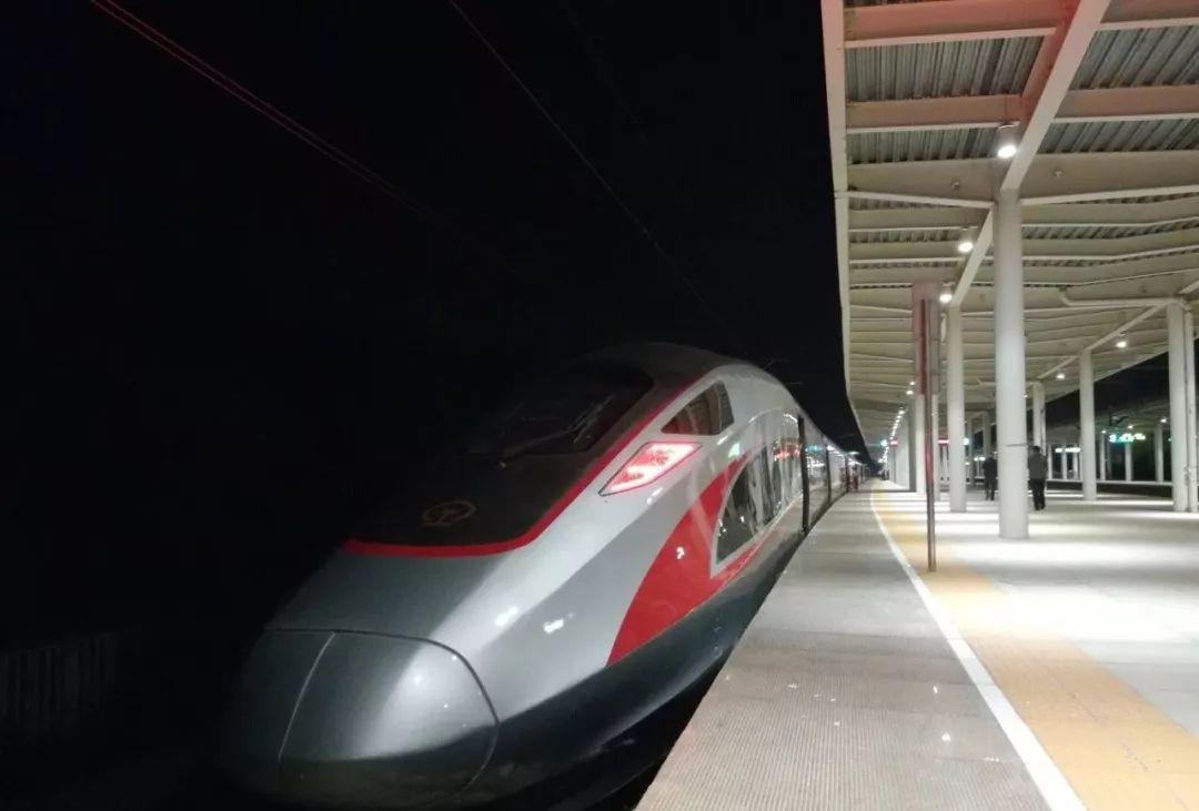 """图定的复兴号来了!黄冈即将进入""""高铁时代""""!具体车次有..."""
