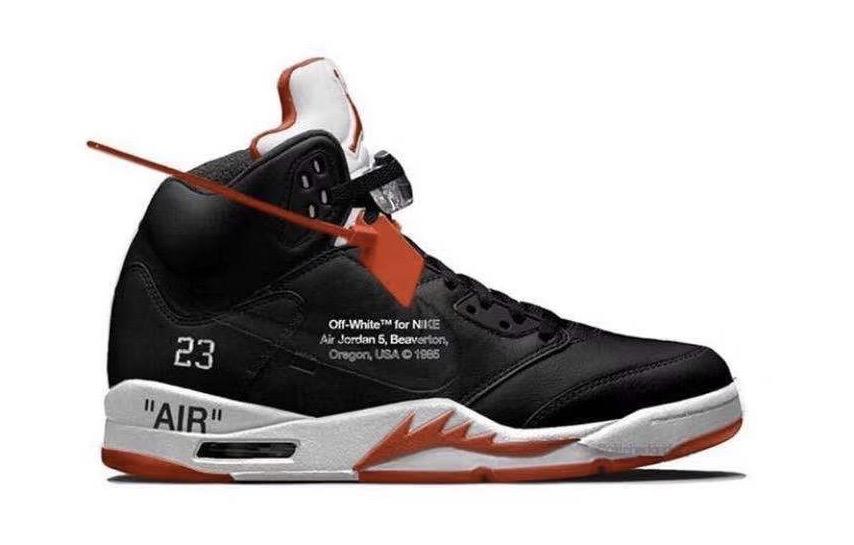 Virgil Abloh x Air Jordan 5联乘概念新配色曝光!看完哪款是你的菜?_有关