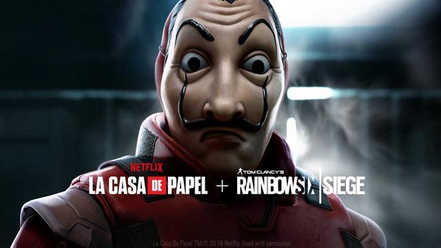 育碧《彩虹六号:围攻》联动Netflix剧集《纸钞屋》_活动