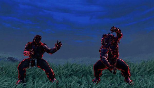 《街霸5:冠军版》公布两种新配色霸气的红蓝