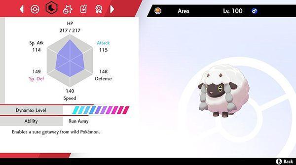海外玩家使用一只毛辫羊通关《宝可梦剑/盾》