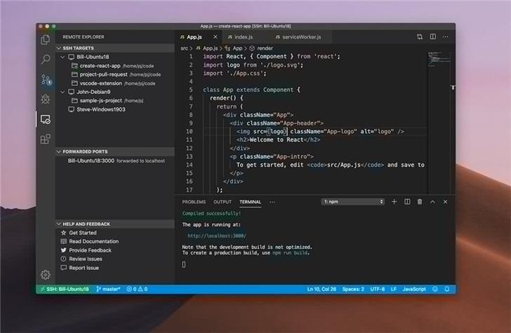 微軟VisualStudioCode成為Facebook默認開發環境