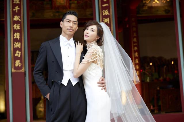 44岁林志玲婚礼像拍电影,42岁言承旭拍的电影像梦