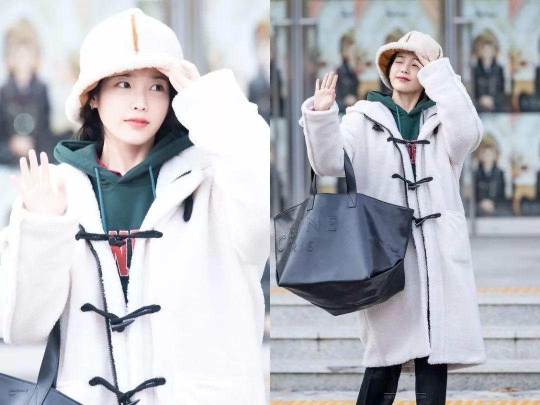 冬季怎么穿才好看?不妨参考IU的私服造型,做个可爱的萌妹子