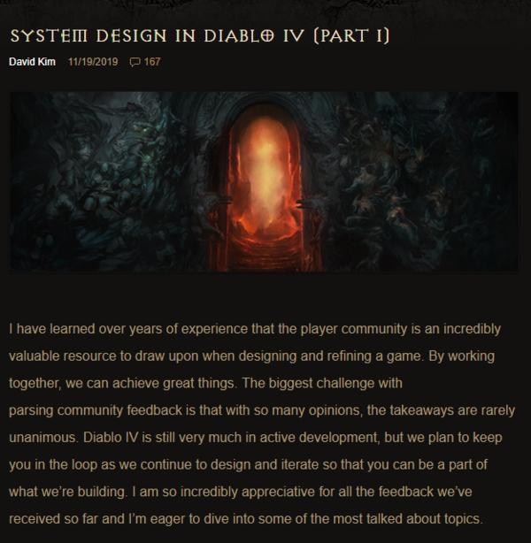 《暗黑破坏神4》新开发日志技能自配,伤害来源广泛_玩家