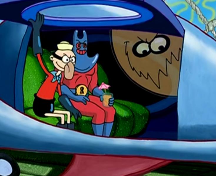 海绵宝宝和派大星成了超级英雄,一个叫做闪电小子,一个叫做伸缩狂人_美人鱼