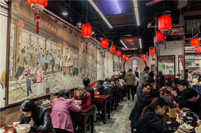 苏州爆排的老字号来上海了!仅凭一碗水磨挂粉汤圆,一开就是33年!