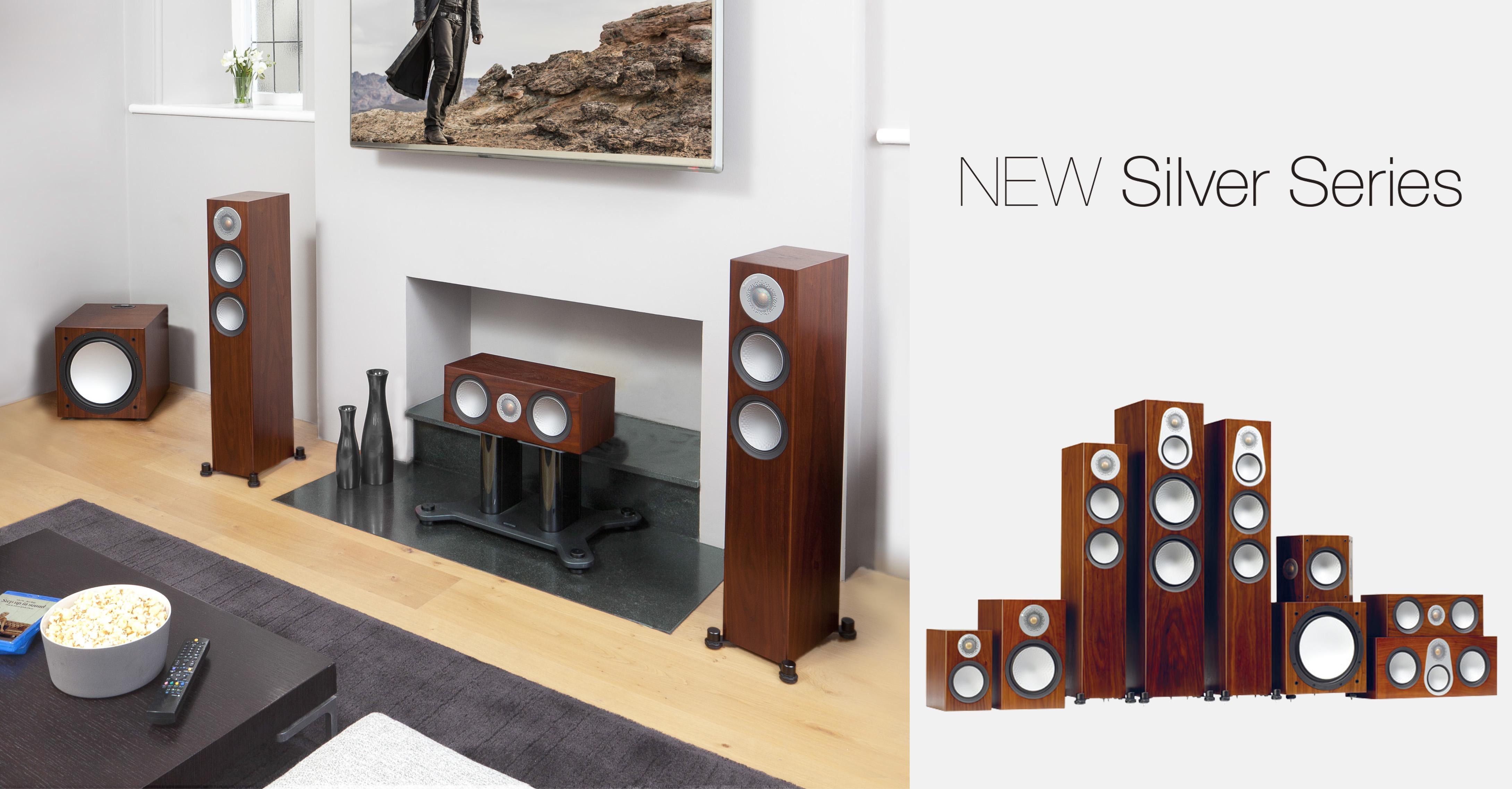 重現高保真聲音,猛牌第六代Silver銀系列進口家庭影院音箱音樂HIFI音響